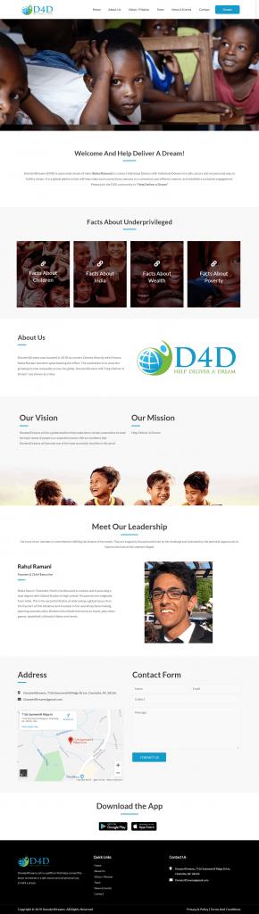 D4D – Help Deliver a Dream